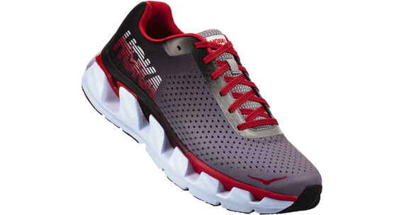 Hoka One One Elevon Running Shoes Men black/racing red